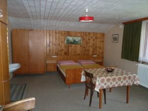 An original room, without en suite