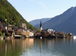 Passing by Hallstatt - soon to be our neighbouring village